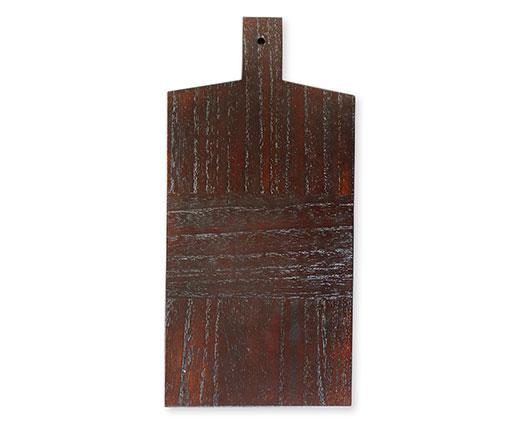 【商品名】鍋敷(大)・カッティングボード 【寸法(mm)】W150×H310×D15 【価格】6,600円