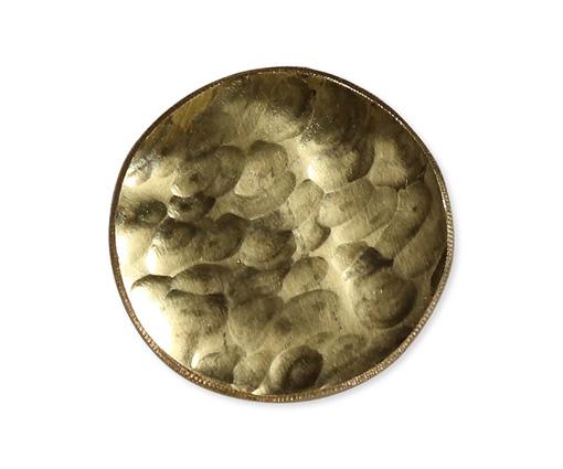 【商品名】真鍮ブローチ(丸) 【寸法(mm)】W32×H32 【価格】5,830円