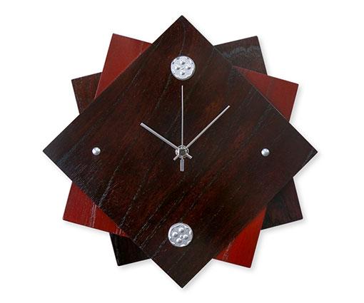 【商品名】時計(丸アラレ) 【寸法(mm)】W250×D250×H36