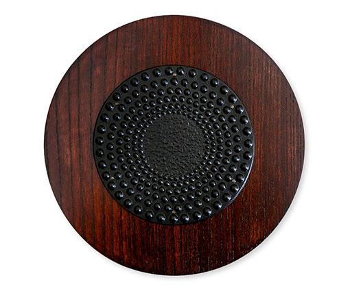 【商品名】鍋敷き丸型(丸アラレ) 【寸法(mm)】W180×D180×H18